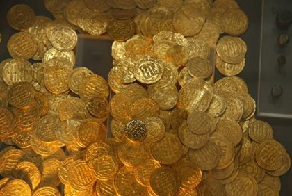 Gold coins (illustrative)