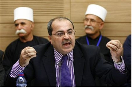 Ahmed Tibi (file)
