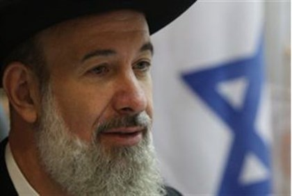 Chief Rabbi Metzger