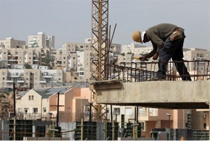 Arab construction worker