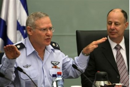 Generall Yadlin at Knesset committee
