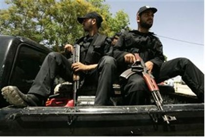 Hamas officers in Gaza