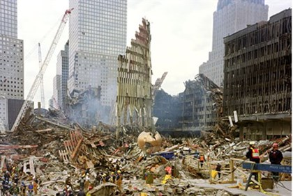 9/11 attack on the WTC