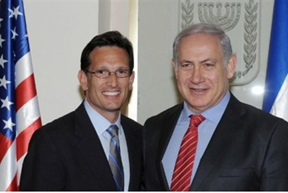 Cantor and Netanyahu