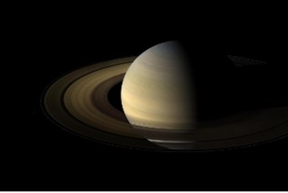 Saturn - or the moon?