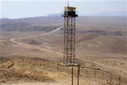 IDF guard tower on Egyptian border