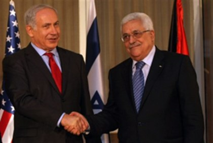 Netanyahu and Abbas (archive)
