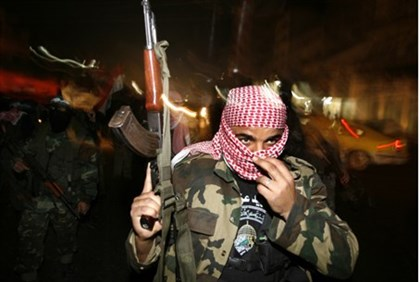 Hamas terrorist still at large