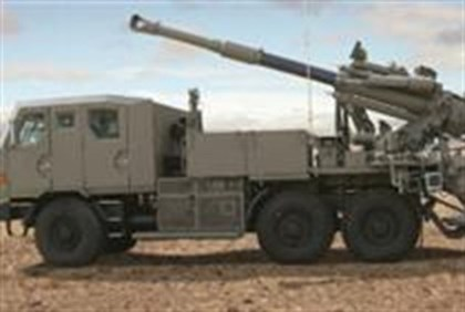 Truck-mounted IDF cannon