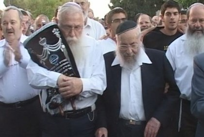Rabbi Druckman and Rabbi Zuckerman