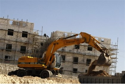 Construction in Efrat