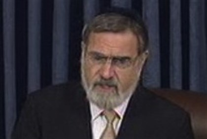 Chief Rabbi Sacks at the Senate