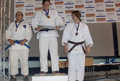 Shahar winds silver medal in judo