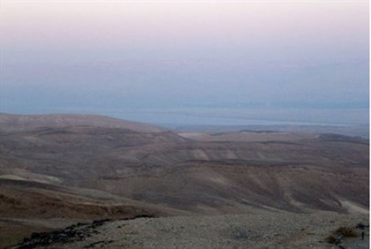 No pollution in the northern Negev skies near the Dead Sea