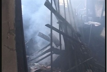 torched synagogue
