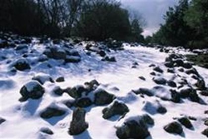 Snow in Golan