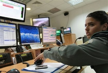 IDF computer operations room