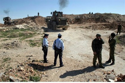 IDF Bulldozer at work