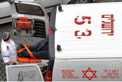 Magen David Adom ambulance