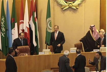 Lavrov at Arab League