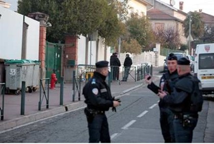 French police guard Toulouse Jewish school 'the day after'