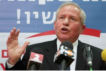 Home Front Protection Minister Avi Dichter