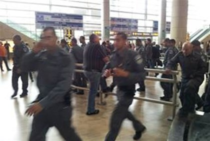 Police fan out at Ben Gurion Airport