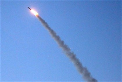 Iron Dome in action (file)