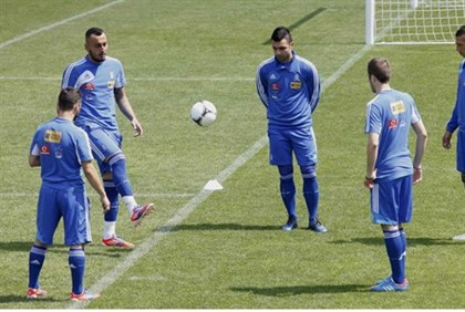 training for Euro 2012