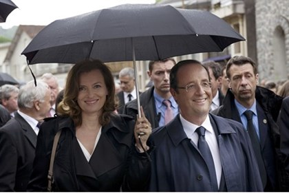 Hollande and Trierweiler