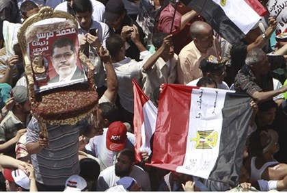 Egyptian supporters of Muslim Brotherhood