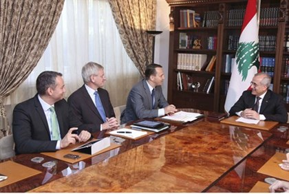 meeting of Lebanese officials