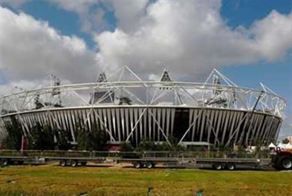 Olympics stadium in London - no time to remeber murdered Israeli athletes