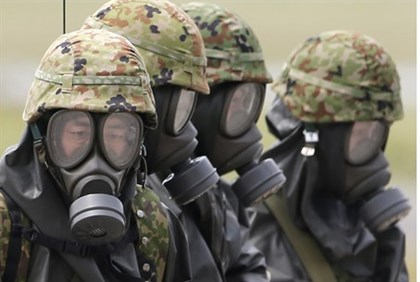 Chemical Weapons Suits