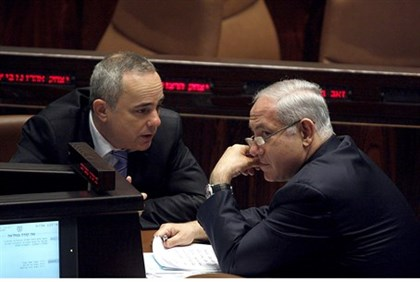 Netanyahu and Finance Minister Yuval Steinitz