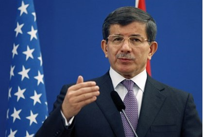 Turkish Foreign Minister Ahmet Davutoglu