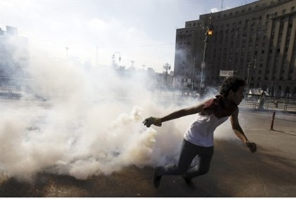 Riots near U.S. Embassy in Cairo