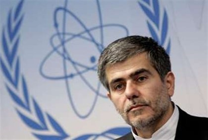 Iran's envoy to the International Atomic Energy Agency Ali Asghar Soltanieh