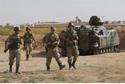 Turkey has retaliated against Syria for the fourth consecutive day