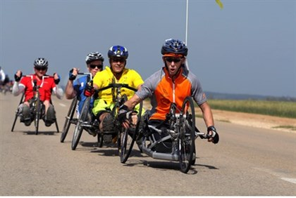 Courage in Motion unites disabled veterands from around the world