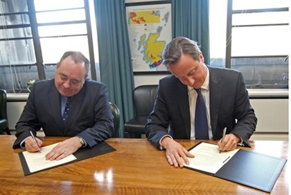 Salmond Cameron makeit official