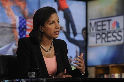 U.S. Ambassador to the United Nations, Susan Rice,