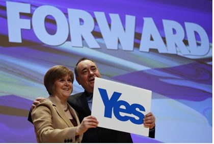 Salmond still expects a yes vote
