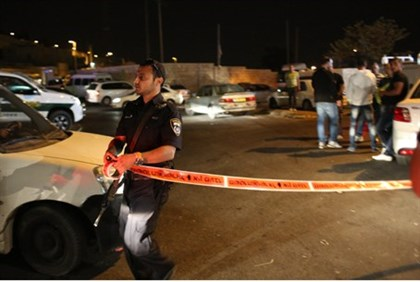 Scene of stabbing attack (archive)