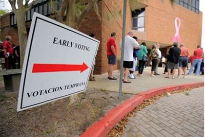 Early voting in Florida