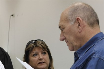 Ehud Olmert and Shula Zaken