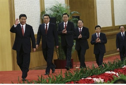 China's Top Seven