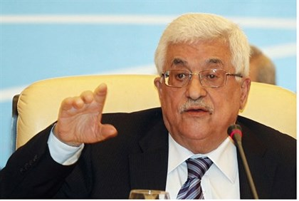Abbas speaks during Arab League meeting in Qatar