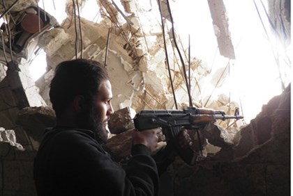 Syrian rebels are zeroing in on Assad