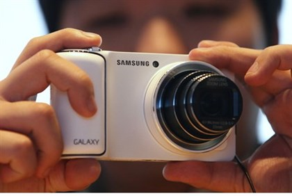 Samsung is one of a number of companies set to buy Kodak patents